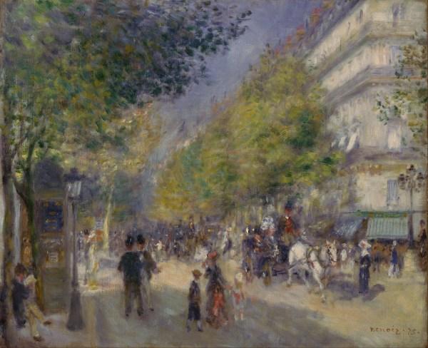 File Pierre-auguste Renoir French - Grands Boulevards