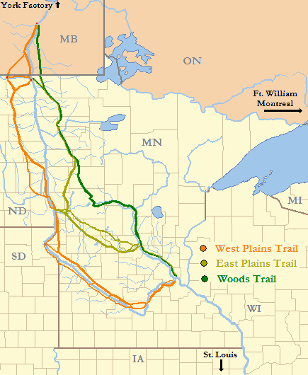 Red River Of The North Map : river, north, River, Trails, Wikipedia