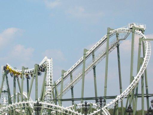 Rollercoaster limit heide park germany