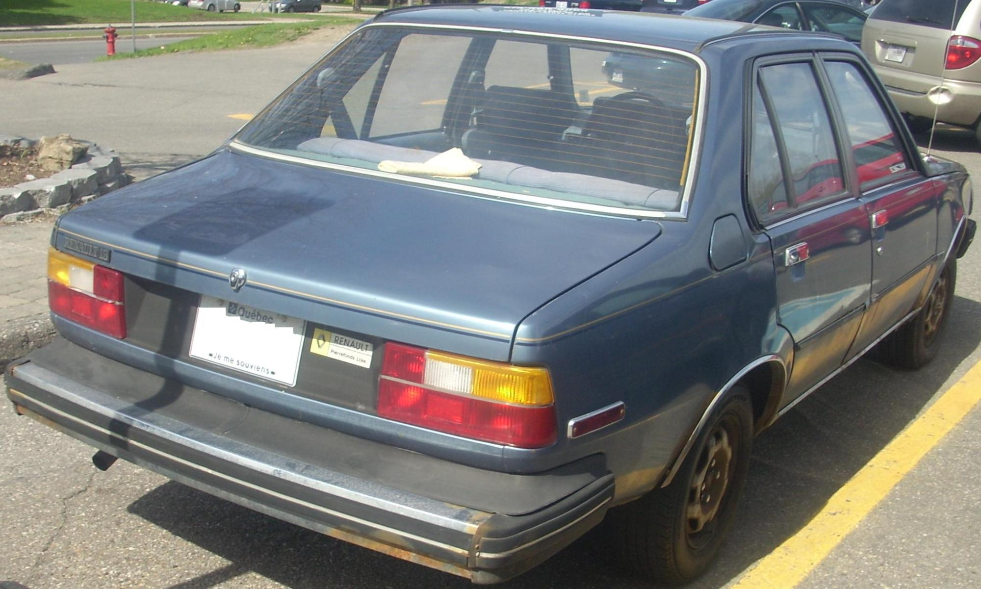 hight resolution of renault 18i canada