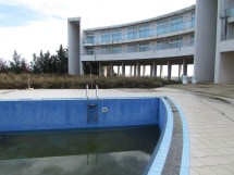 Abandoned Hotel Swimming Pool