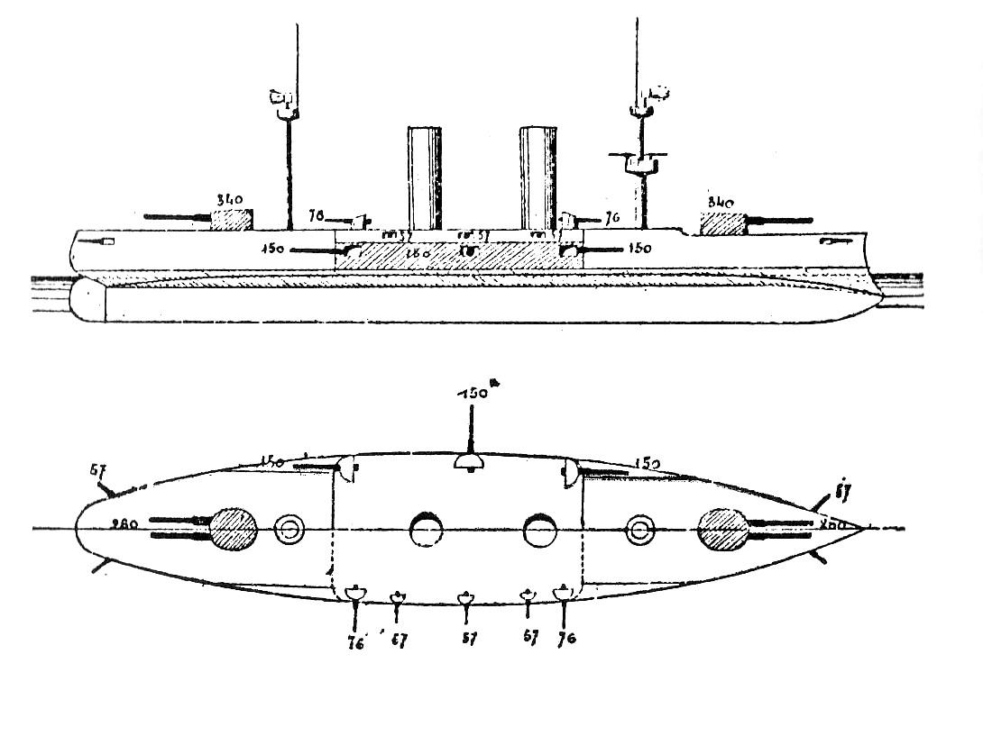 Ottoman Battleship Abdul Kadir