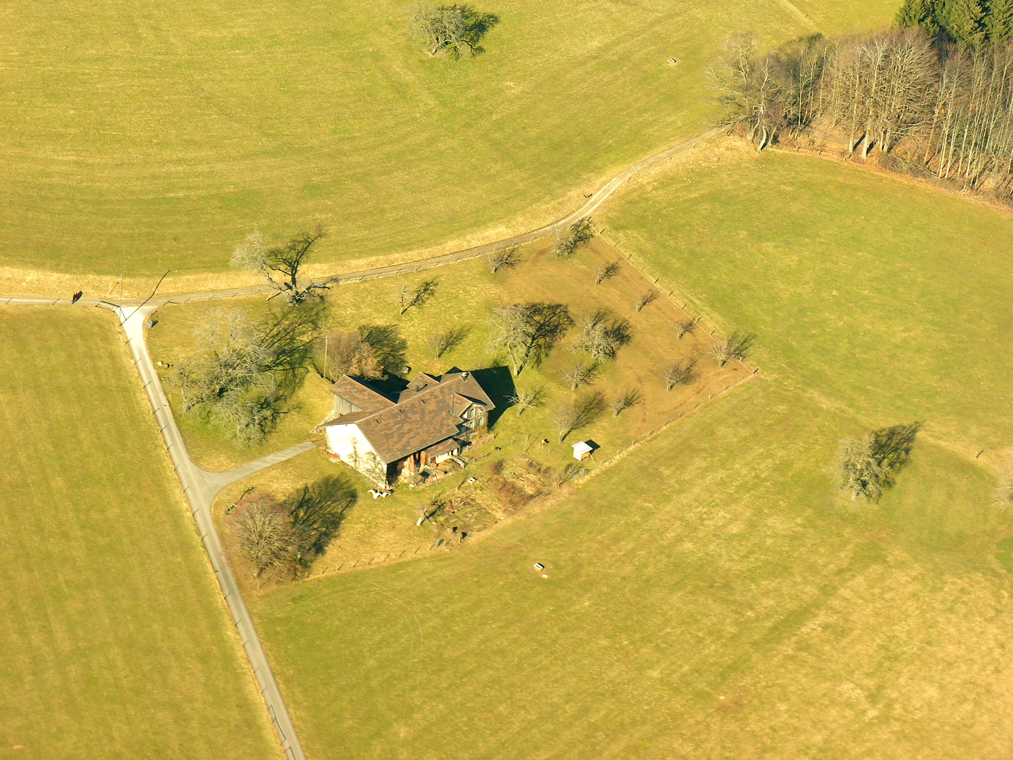 Google Aerial View Of Property