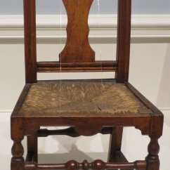 Queen Anne Style Chair Rocking With Cane Seat And Back File American Side Made By John