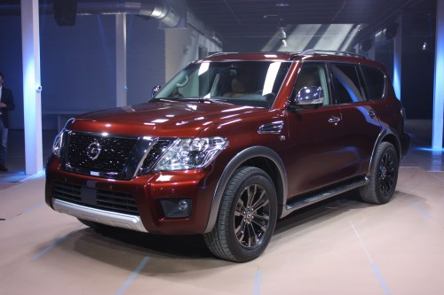 small resolution of display of the 2nd gen nissan armada jpg