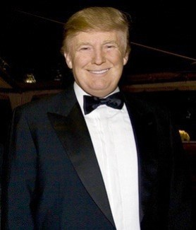 Donald Trump in February 2009