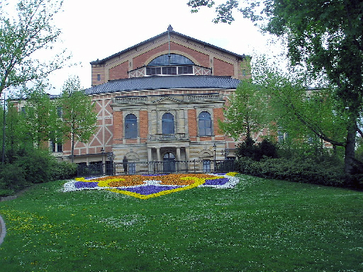 The Festspielhaus in Bayreuth (thanks to Wikipedia)