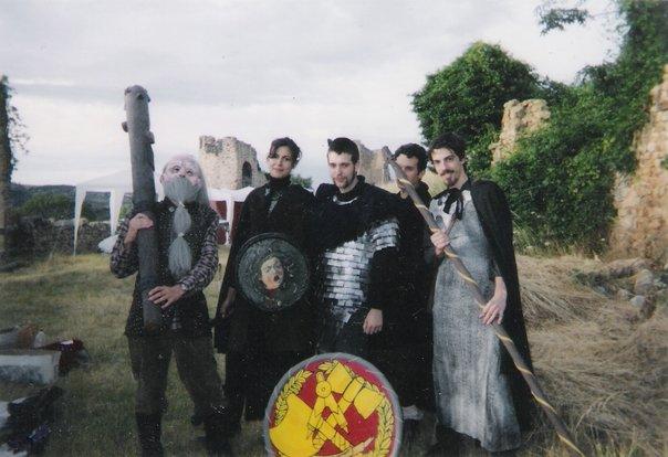 "English: Team of ""adventurers"" (play..."