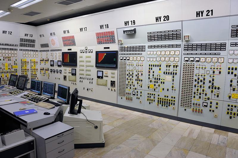 Archivo: central nuclear de Kozloduy - Sala de Control de la Unidad 5.jpg