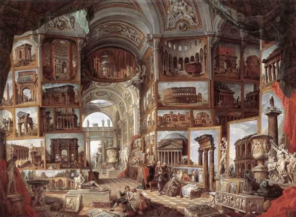 Ancient Rome Giovanni Paolo Panini