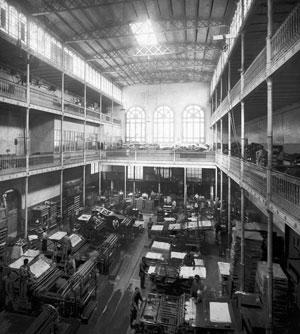 Català: Interior del pati de taller de la impr...