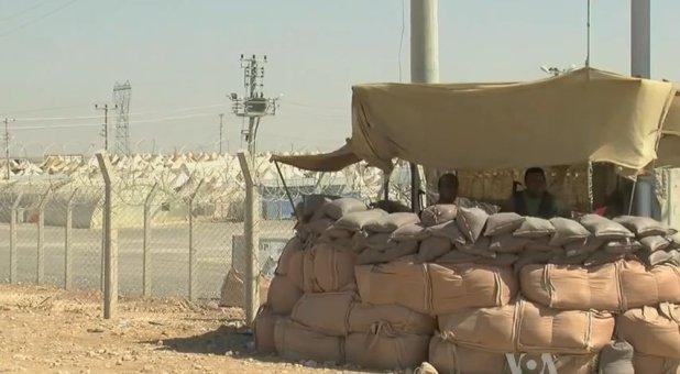Syrian Refugee Camp on Turkish Border