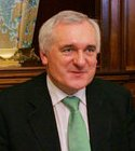 Ireland's Prime Minister Bertie Ahern