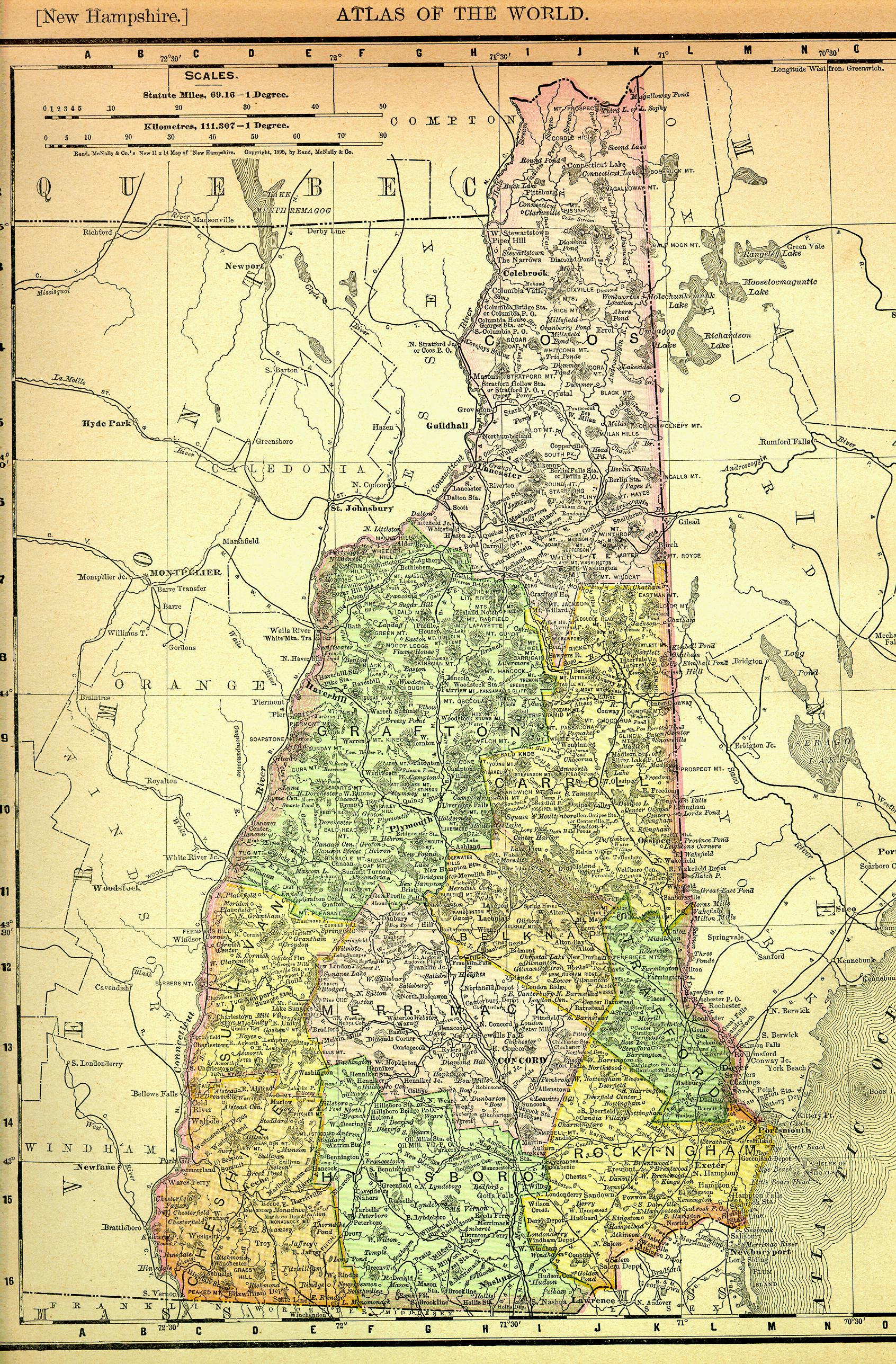 File New Hampshire Map