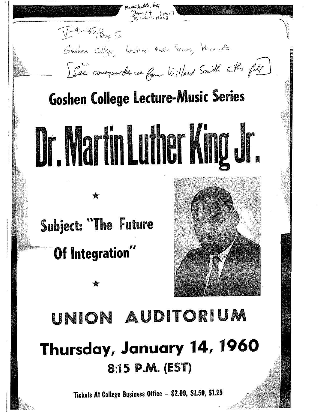 Martin Luther King Steckbrief
