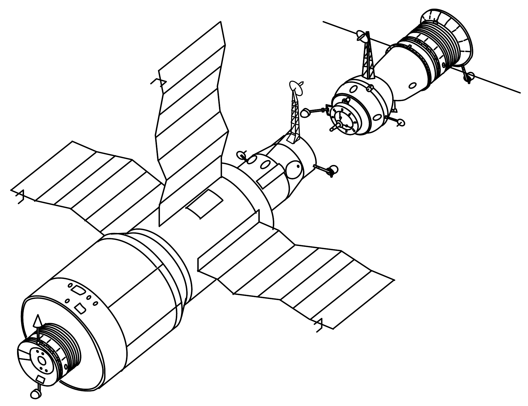 Fichier Salyut 4 And Soyuz Drawing