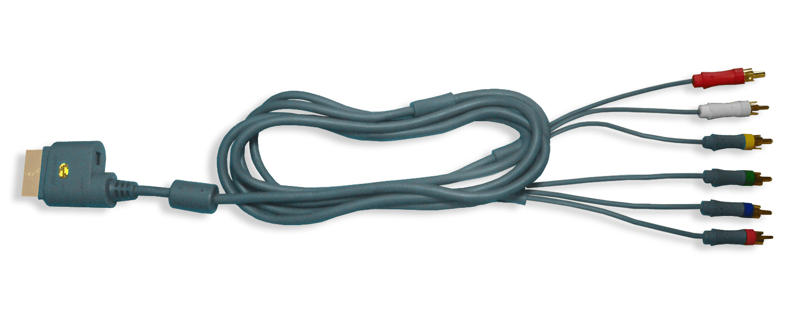 hight resolution of file xbox 360 component cable png