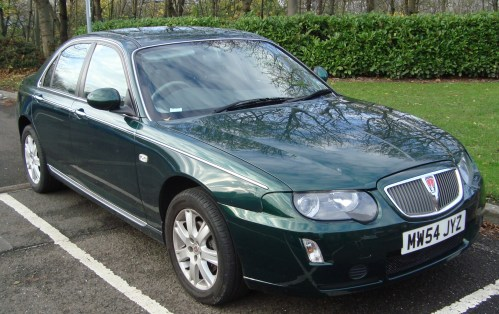 small resolution of facelift rover 75 saloon