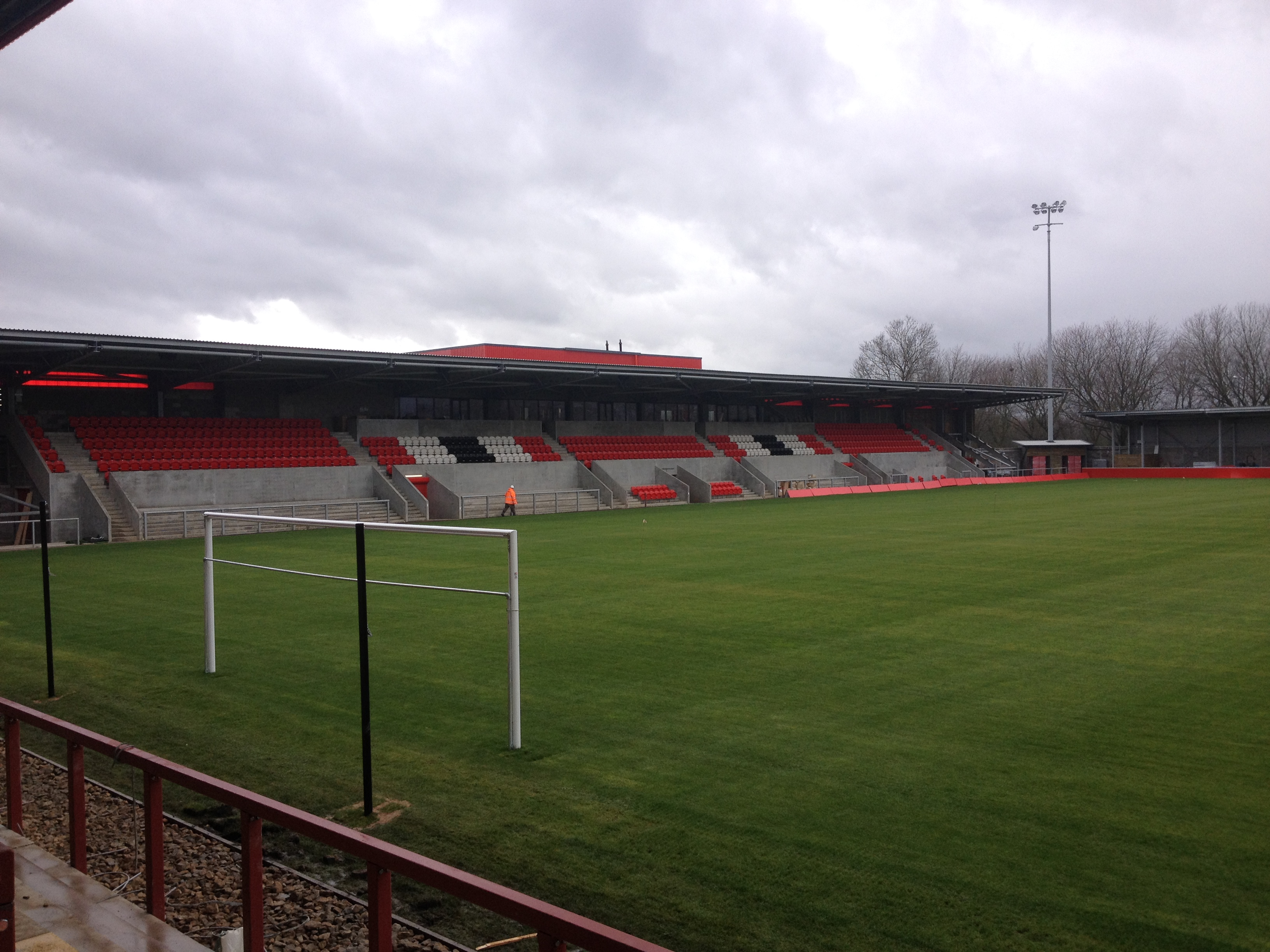File:Broadhurst Park – Main Stand2.JPG - Wikimedia Commons