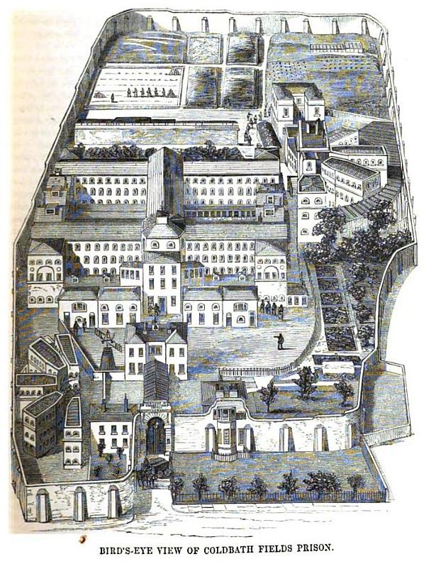 Coldbath Fields Prison  Wikipedia
