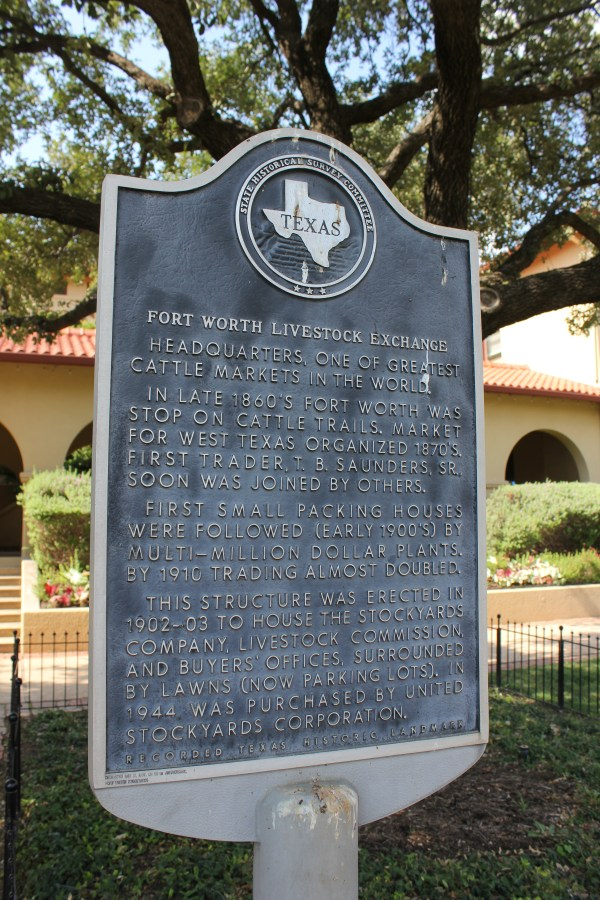 Historical Markers Fort Worth