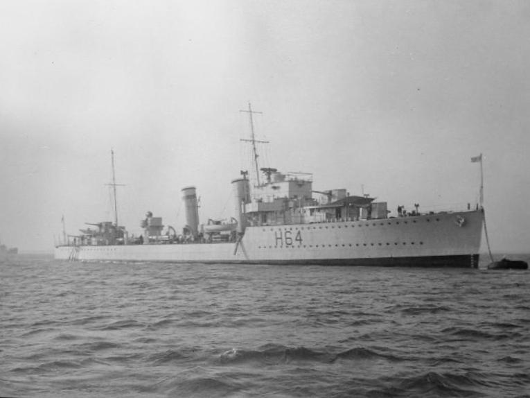 HMS Duchess H64  Wikipedia