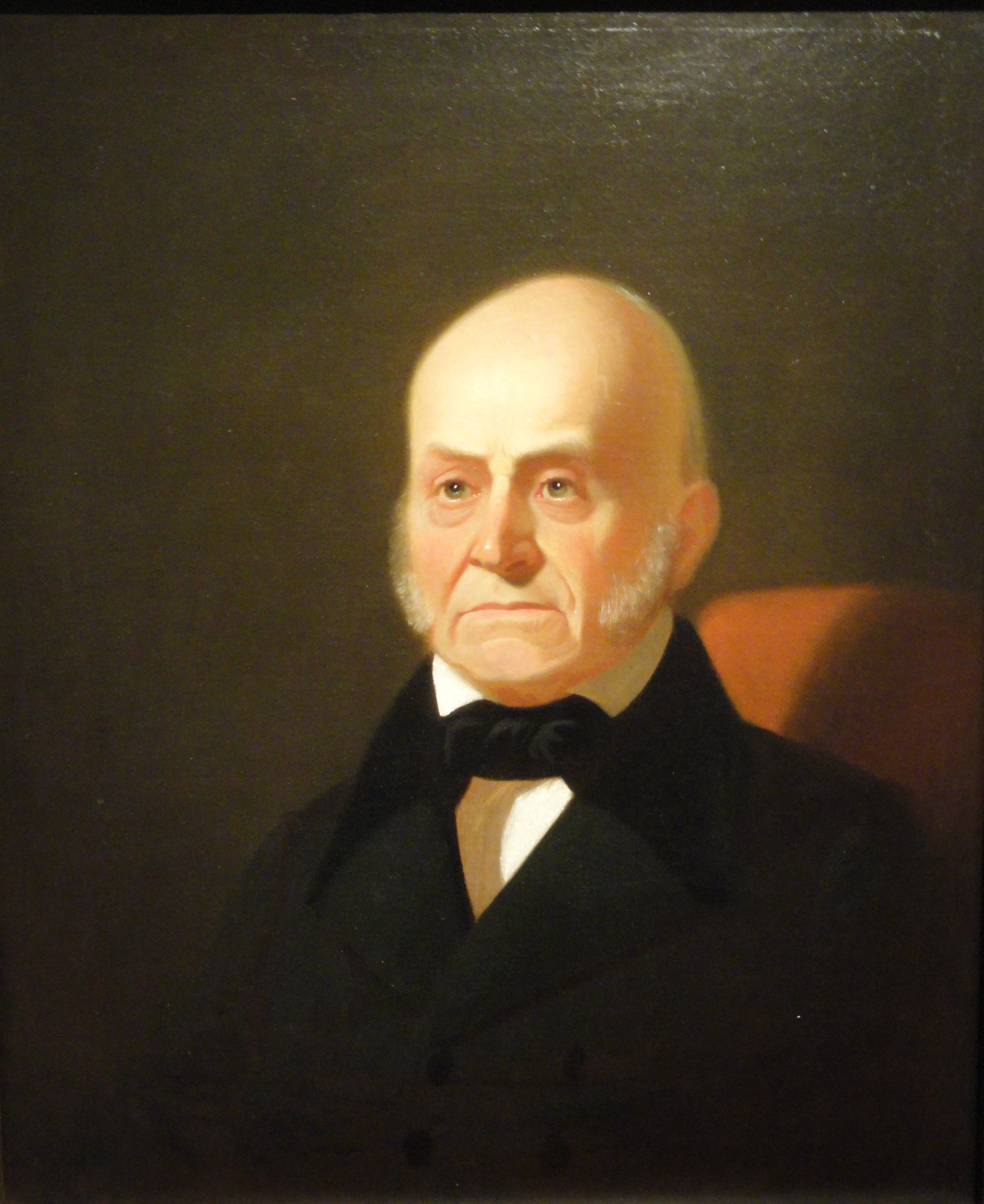File John Quincy Adams By George Caleb Bingham C