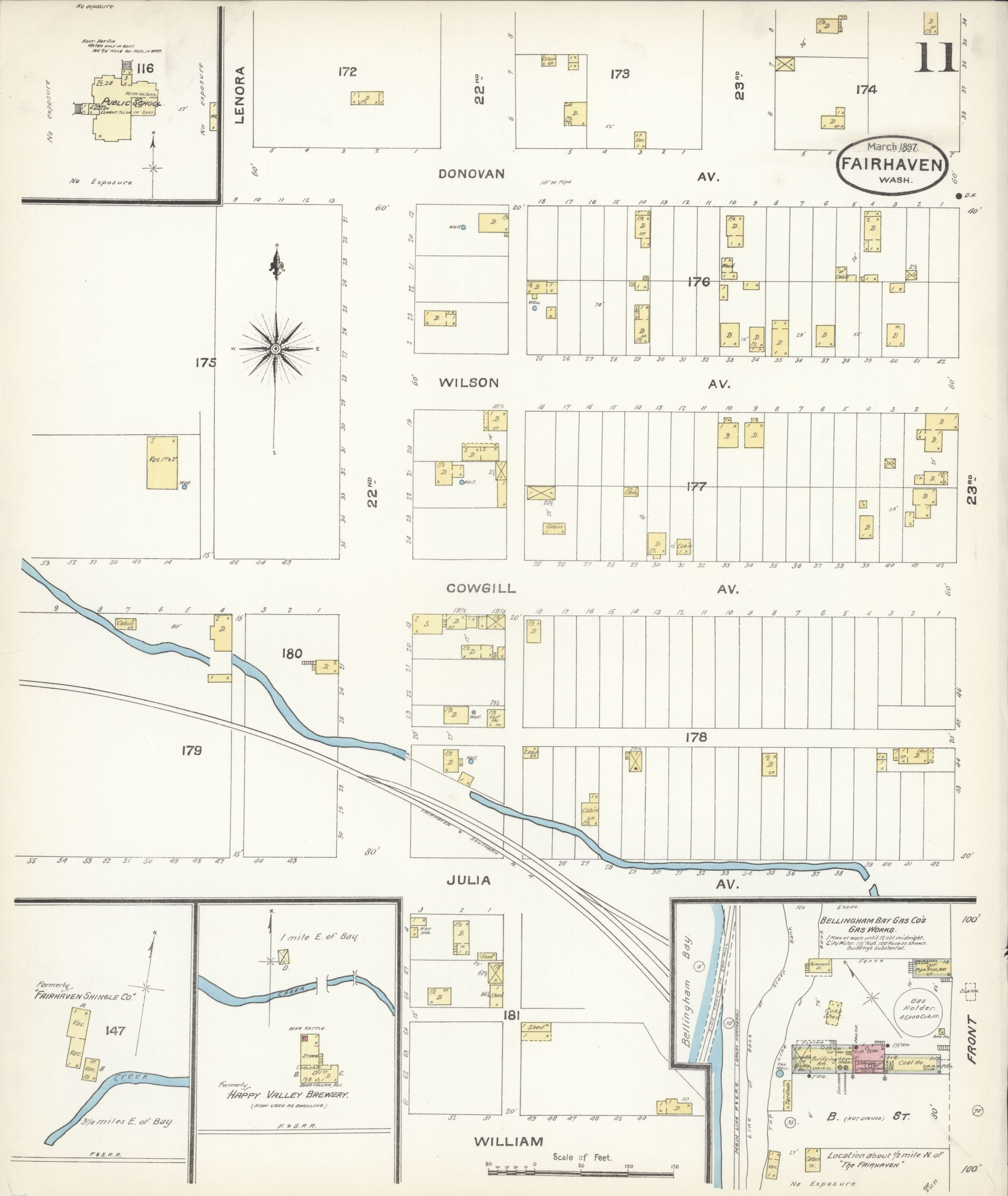 hight resolution of file sanborn fire insurance map from fairhaven see also bellingham sehome whatcom county washington loc sanborn09182 003 11 jpg