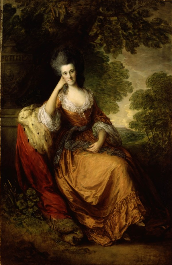 Painting of Lady Hamilton Gainsborough