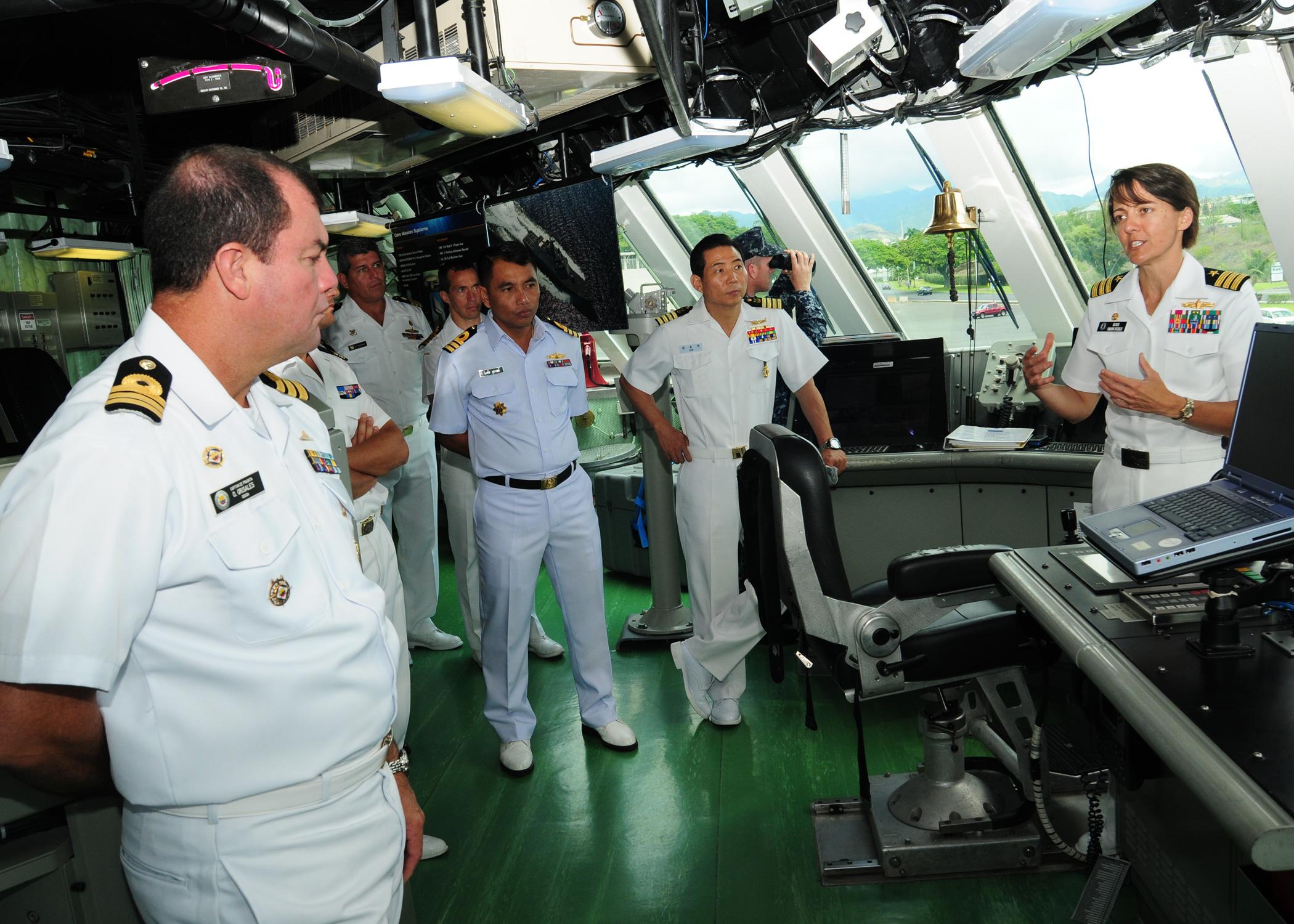 FileUS Navy 100627N3570S105 Cmdr Kris Doyle