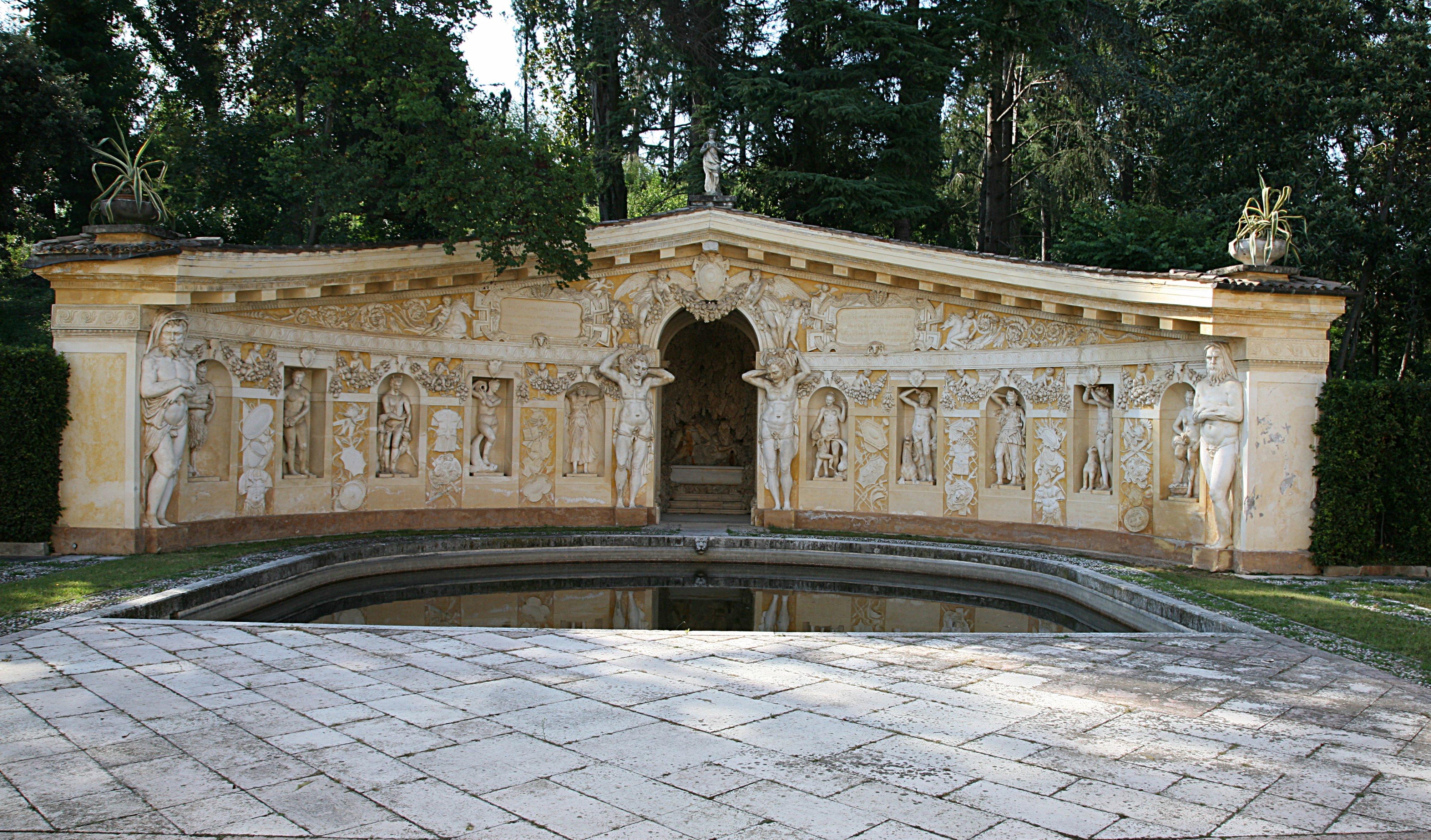Palladio. Nymphaeum. Villa Barbaro, Veneto, Italy. ca. 1550s.