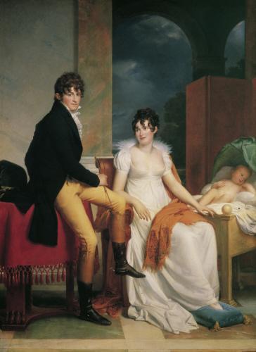 Moritz von Fries และครอบครัว, วาดโดย François Gérard ปี 1805