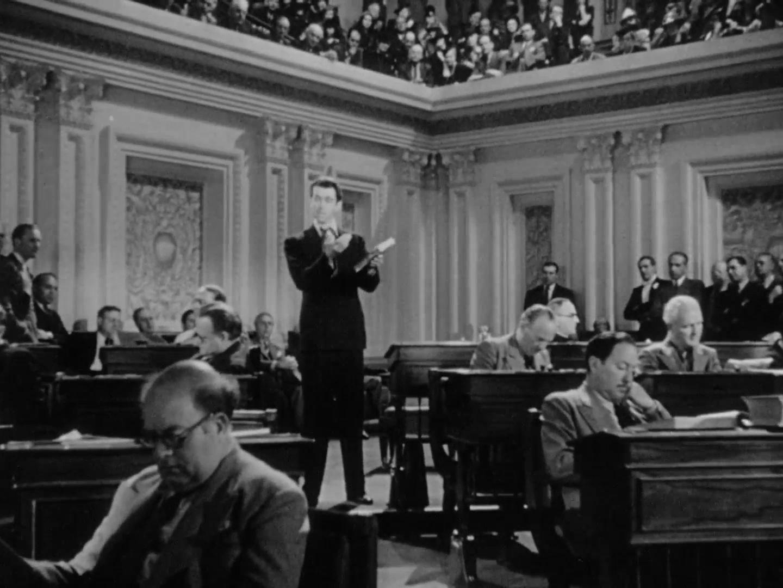 Jimmy Stewart in Mr. Smith Goes to Washington