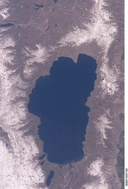 vista aérea Lago Tahoe