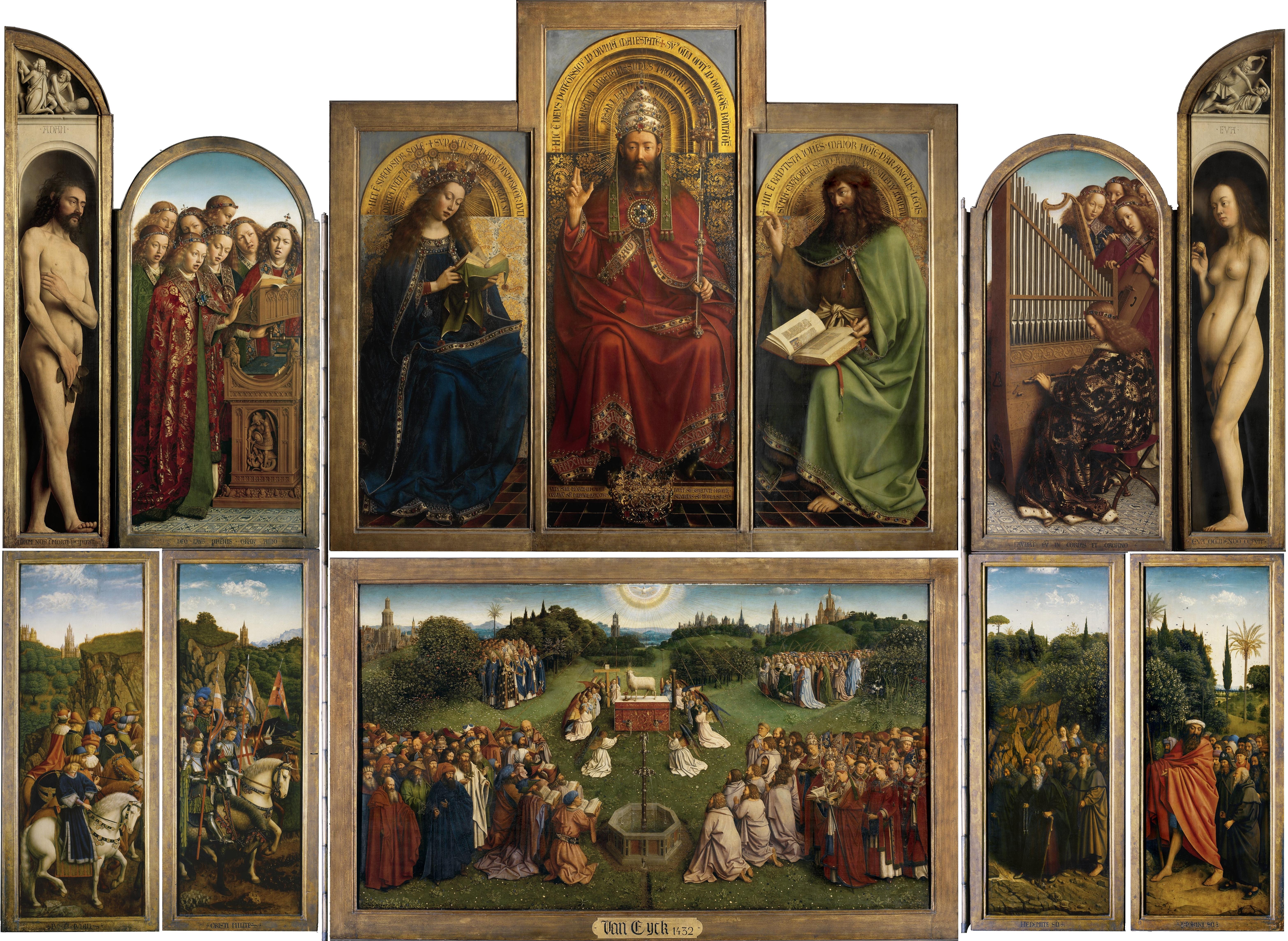 Ghent Altarpiece Lamb religious art | Daydre...
