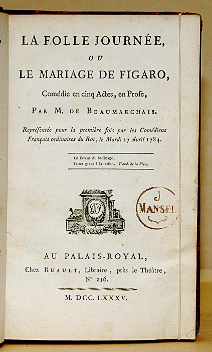 Beaumarchais Le Mariage De Figaro : beaumarchais, mariage, figaro, Mariage, Figaro, Wikipédia