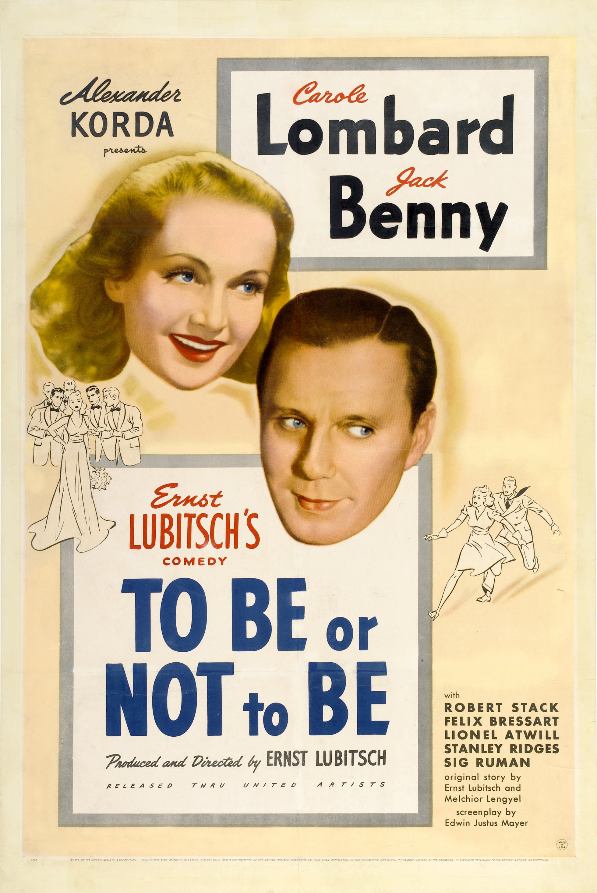 To Be Or Not To Be Lubitsch : lubitsch, (1942, Film), Wikipedia