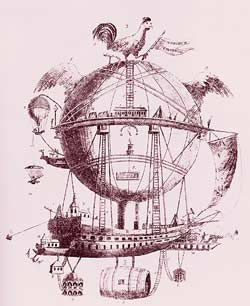"""A fanciful view of future airship trave&..."