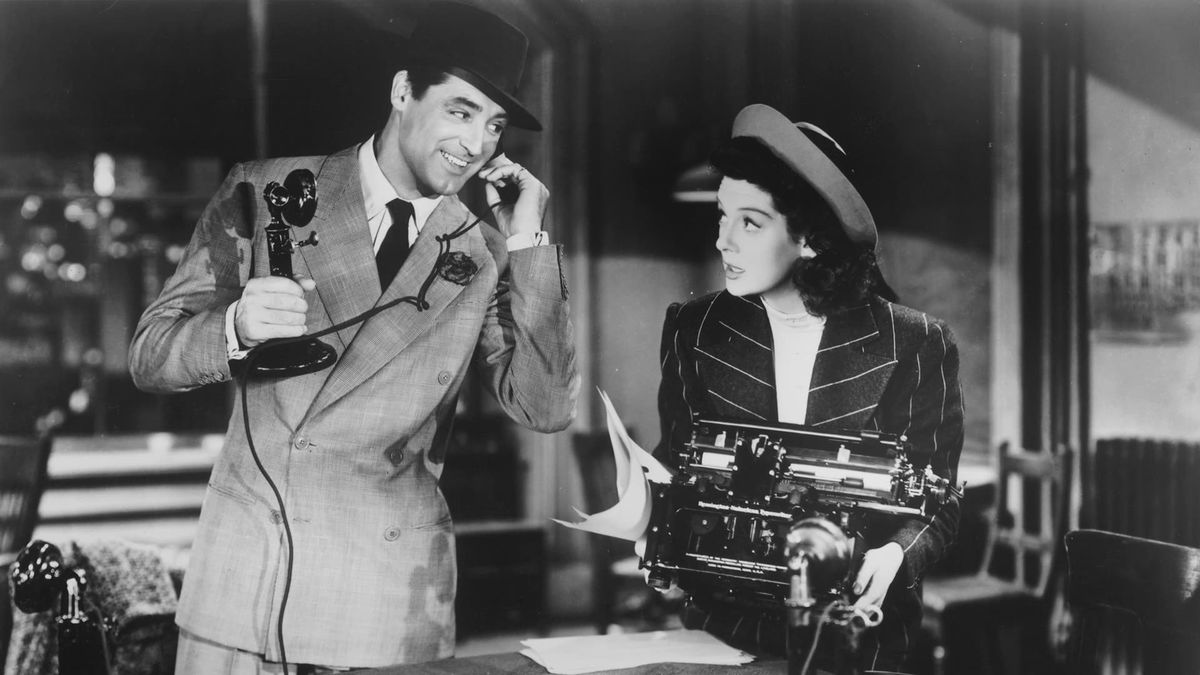 Scene from the movie His Girl Friday