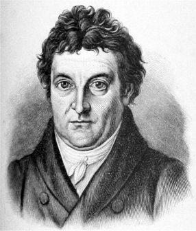The philosopher Johann Gottlieb Fichte.