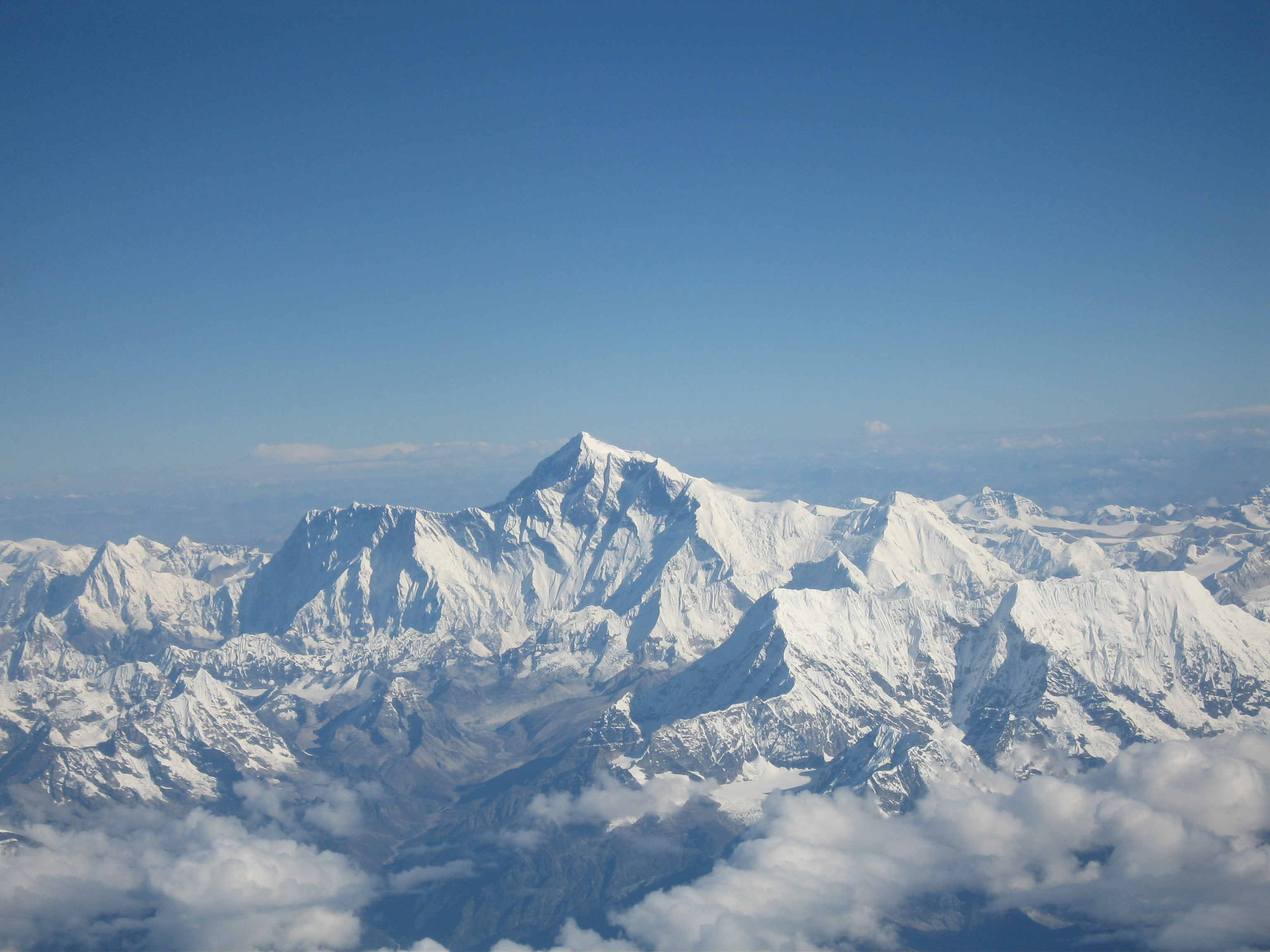 Filemount Everest As Seen From Drukairjpg Wikimedia