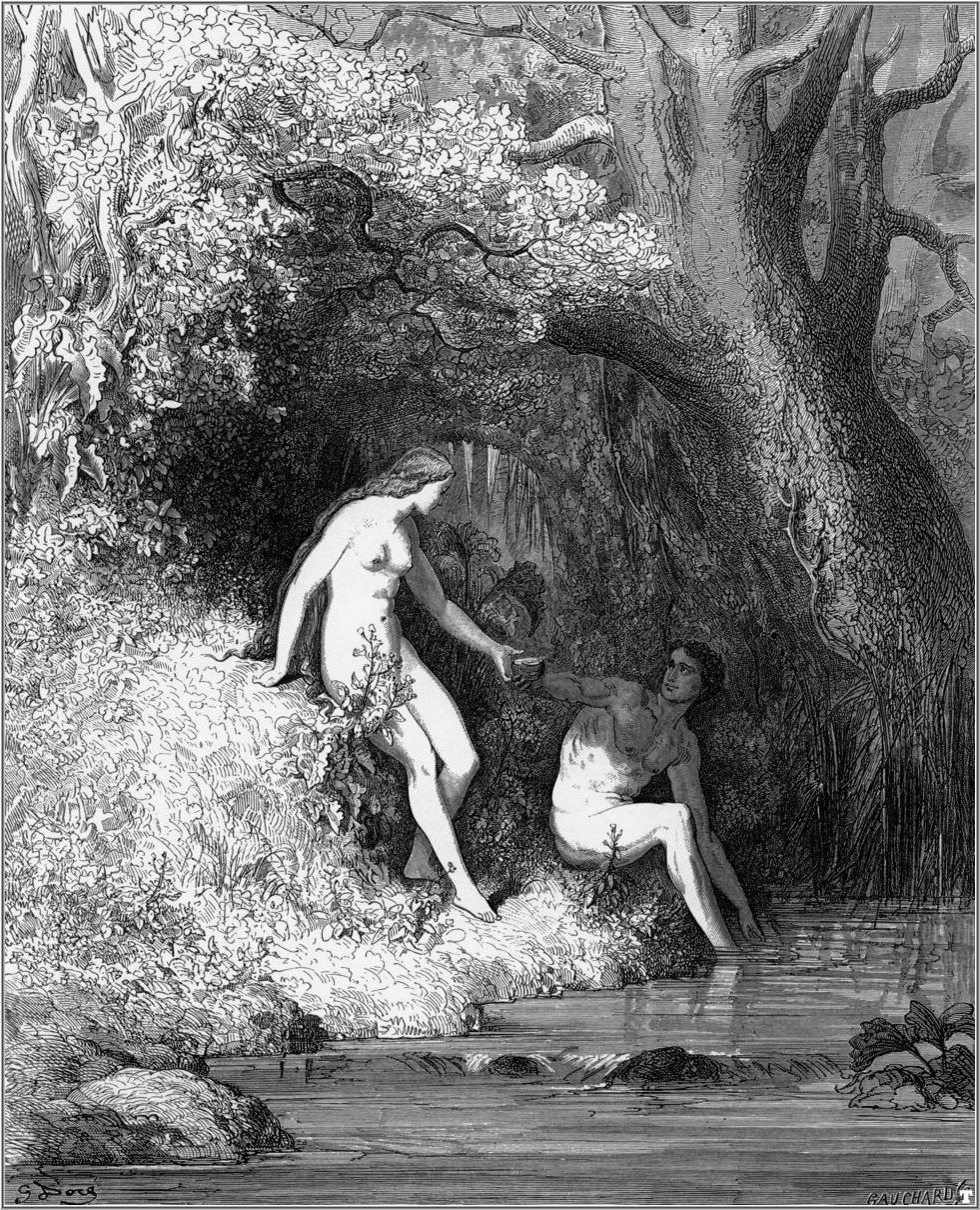 "John Milton's ""Paradise Lost"" by Gustave Doré Credit Wikimedia Commons"