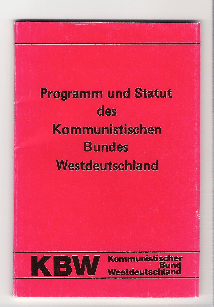 Kommunistischer Bund Westdeutschland  Wikipedia
