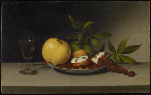 FileRaphaelle Peale Still Life with Fruit Cakes and