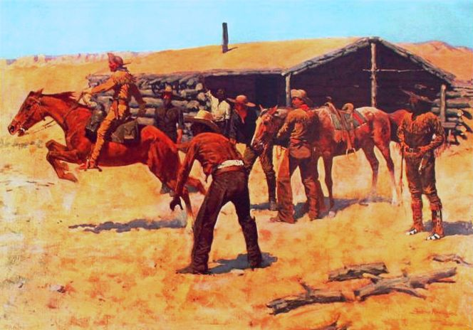 File:Remington Coming and Going of the Pony Express.jpg