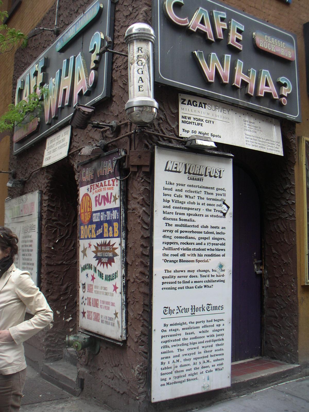 Cafe Wha Wikipedia