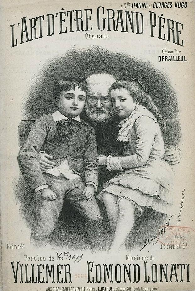 Victor Hugo L'art D'être Grand Père : victor, l'art, d'être, grand, père, File:L'art, D^étre, Grand, Père, Chanson.jpg, Wikimedia, Commons