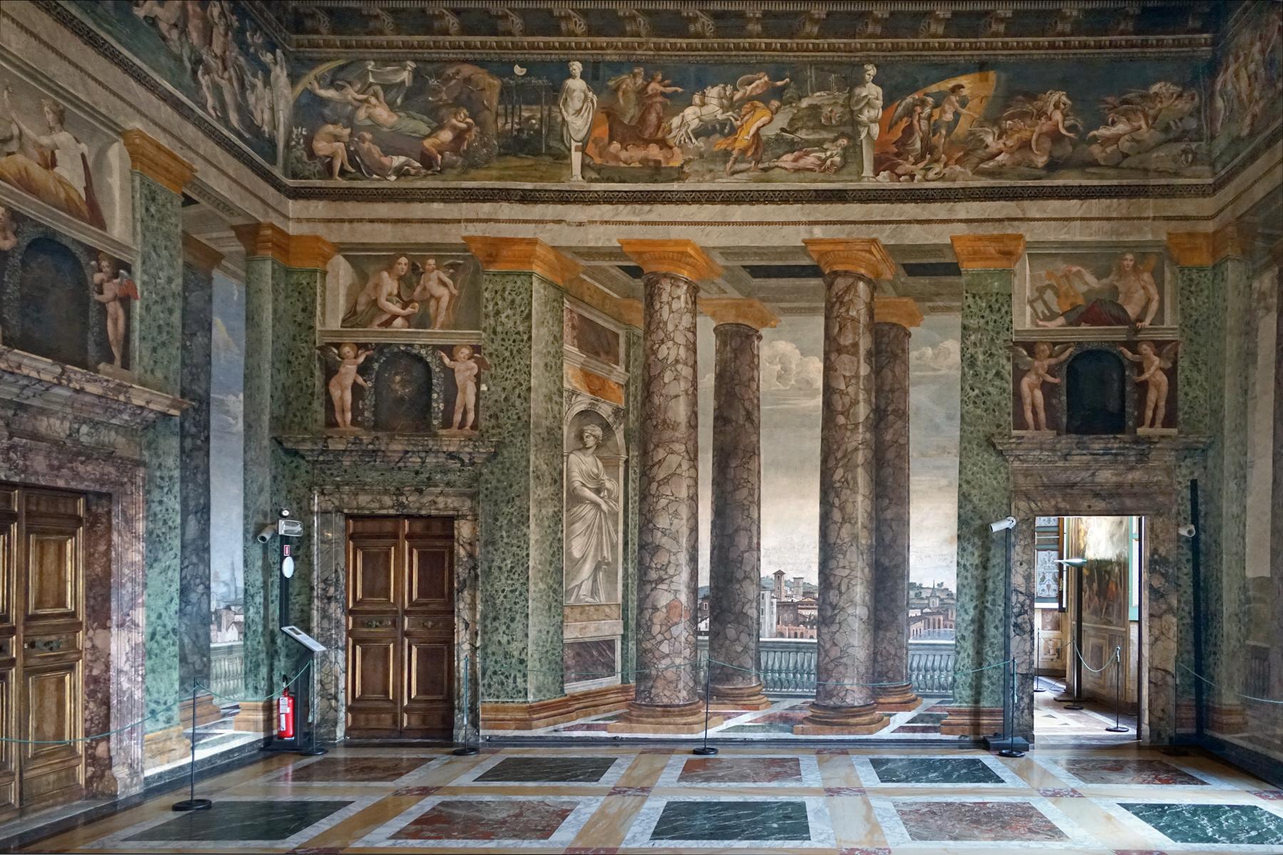 FileLe salon des Perspectives Villa Farnesina Rome 34242676046jpg  Wikimedia Commons