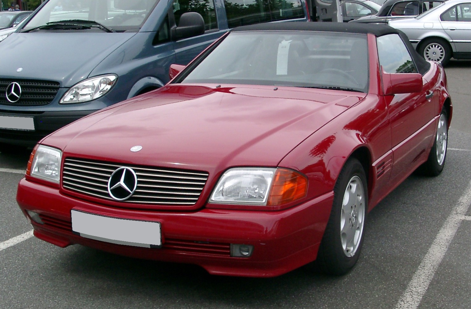 1998 Mercedesbenz Sl500 2dr Roadster 50l Sport Sold 1997 Mercedes Benz 500sl Fuse Box Diagram Sl 73 Amg R129 26 Avril 2015 Autogespot Filemercedes Front 20080801 Wikimedia Commons