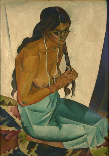 Nadia Bulighin - Femeie în interior